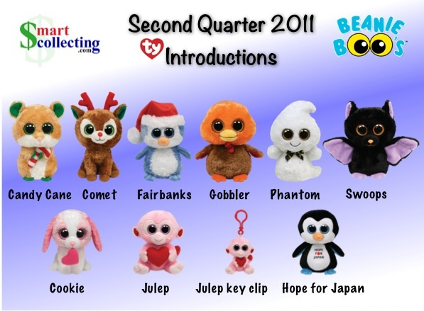 da44b13e74b ... 2 Halloween themed Beanie Boos named Phantom and Swoops